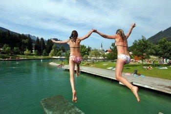 Fun at Lake St. Martin