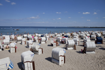 Baltic Sea spa resort Timmendorfer Strand is among the most popular and mundane beach towns by the German Baltic Sea.