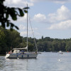 Wannsee is the perfect spot for sailing.