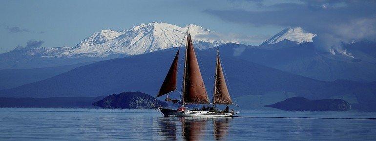 Sail Fearless on Lake Taupo