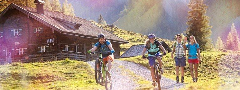 Radfahrer in Flachau