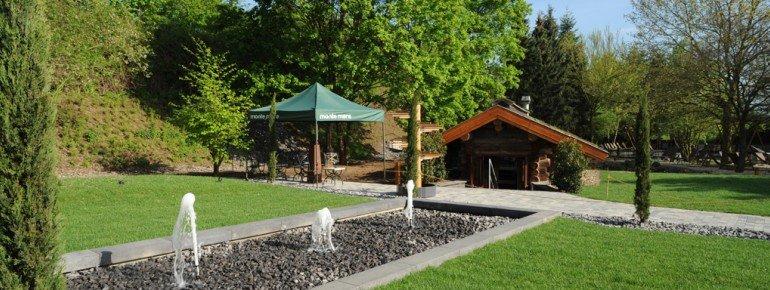 Saunagarten in Andernach
