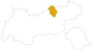 Karte der Wanderungen am Achensee