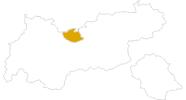 Karte der Wanderungen in der Olympiaregion Seefeld