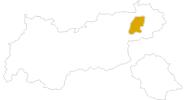Karte der Wanderungen Wilder Kaiser