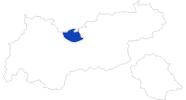 Karte der Bademöglichkeiten in der Olympiaregion Seefeld