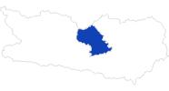 Karte der Bademöglichkeiten in der Region Nockberge Bad Kleinkirchheim