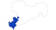 Karte der Bademöglichkeiten im Vogtland