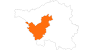 map of all tourist attractions Saarlouis