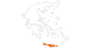 map of all tourist attractions in Crete