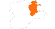 map of all tourist attractions in Burgos