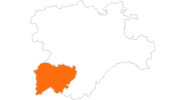 map of all tourist attractions in Salamanca