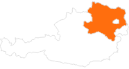 map of all tourist attractions in Lower Austria