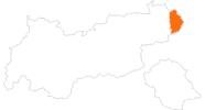 Karte der Ausflugsziele im Pillerseetal