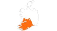 Karte der Ausflugsziele in Munster