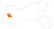 map of all tourist attractions in Tyrol West
