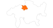 map of all tourist attractions in Chur