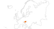 map of all tourist attractions in Austria