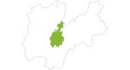 map of all bike tracks in Trento, Bondone, Valle dei Laghi, Rotaliana