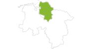 Karte der Webcams im Land zwischen Elbe und Weser