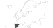 map of all travel guide in Spain