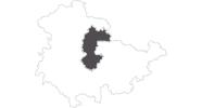 map of all travel guide Erfurt und Umgebung