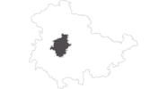 map of all travel guide Gotha und Umgebung