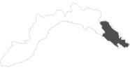 map of all travel guide La Spezia