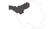 map of all travel guide Merzig-Wadern