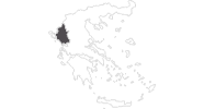 map of all travel guide in Epirus