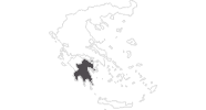 map of all travel guide in Peloponnese