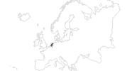 Karte der Reiseziele in Niederlande