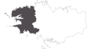 map of all travel guide in Finistère