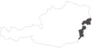 map of all travel guide in the Burgenland