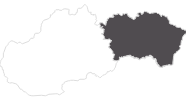 map of all travel guide in Eastern Slovakia