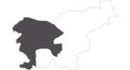 Karte der Reiseziele in Westslowenien