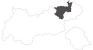 Karte der Reiseziele im Kufsteinerland