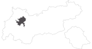 map of all travel guide in the Ferienregion Imst