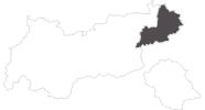 Karte der Wetter in Kitzbühel