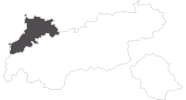 map of all travel guide in the Naturparkregion Reutte