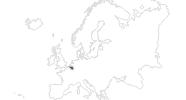 Karte der Reiseziele in Belgien