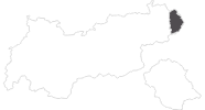 map of all travel guide in the Pillerseetal