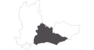 map of all travel guide in Surrey, East and West Sussex