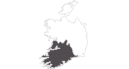 map of all travel guide in Munster