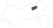 Karte der Wetter in Wildschönau