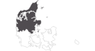 map of all travel guide in the North and Central Denmark Region
