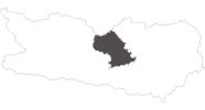 map of all travel guide in the Region Nockberge Bad Kleinkirchheim