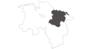 map of all travel guide in the Lüneburg Heath