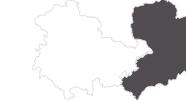 Karte der Reiseziele in Harz (Thüringen)