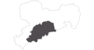 map of all travel guide in the Ore Mountains